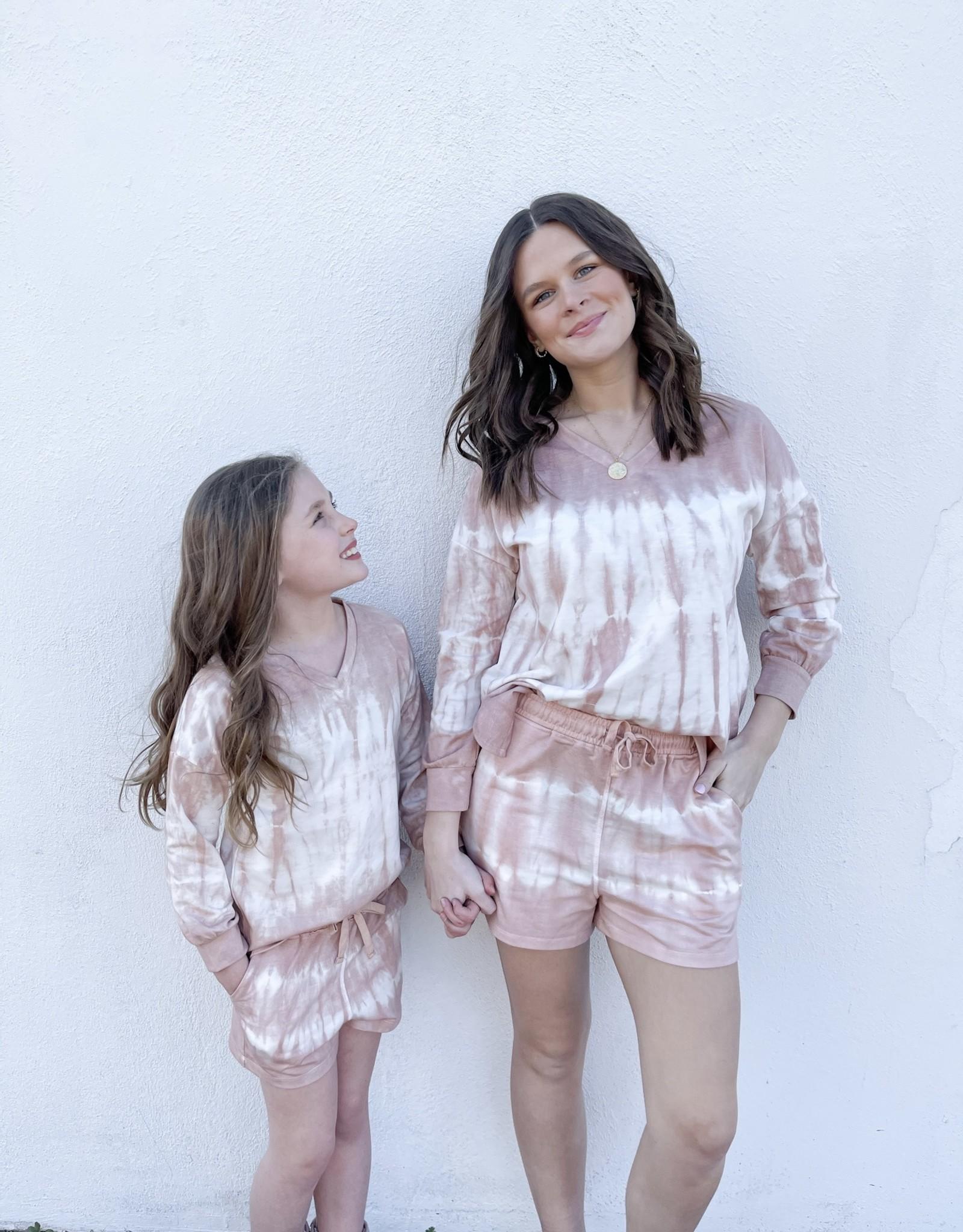 Girls Roma Tie Dye Top