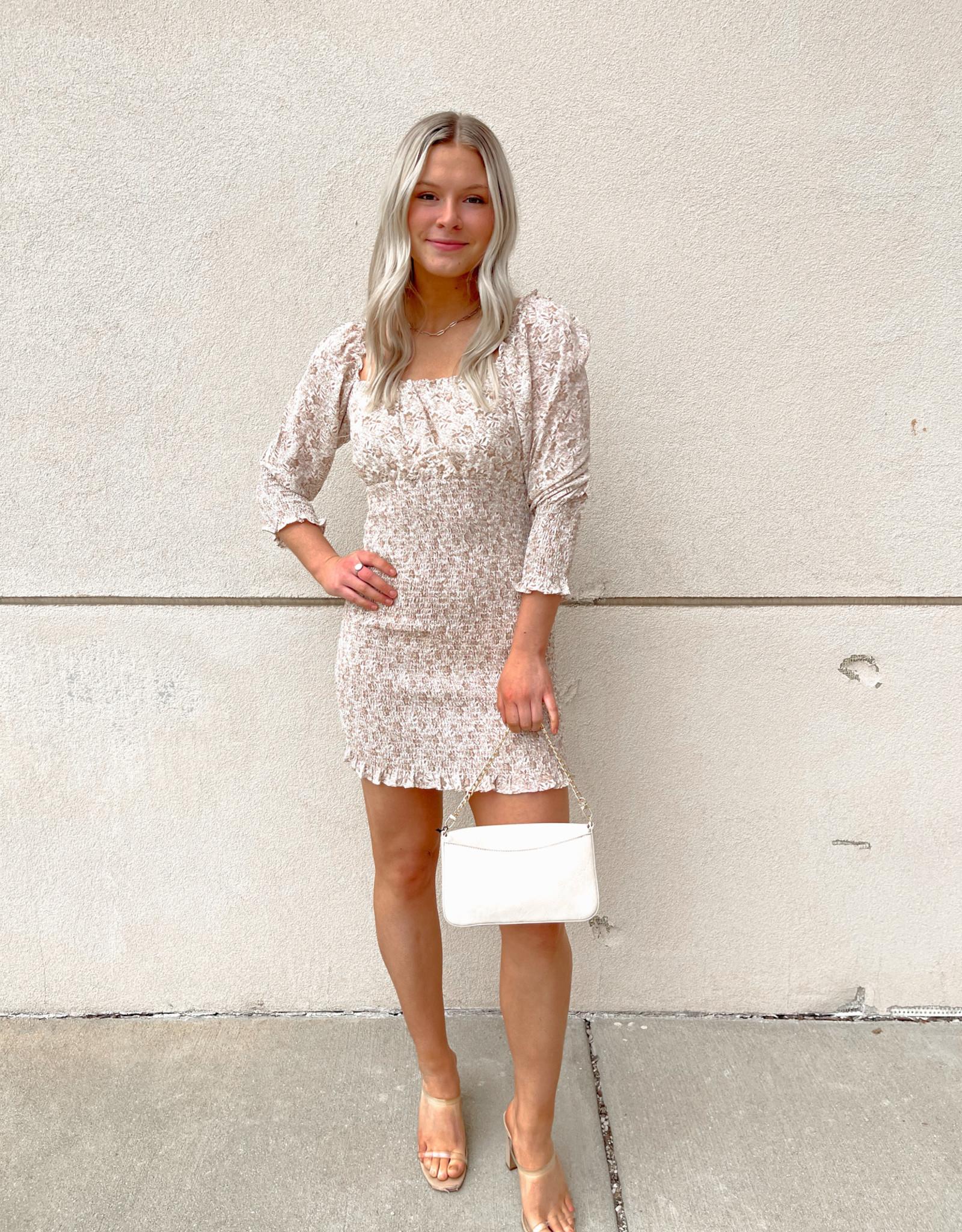 Aideen Smocked Dress