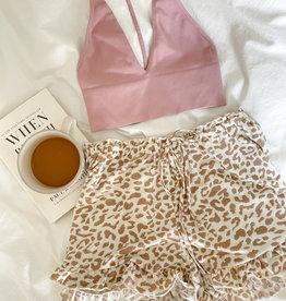 Austin Leopard Lounge Shorts