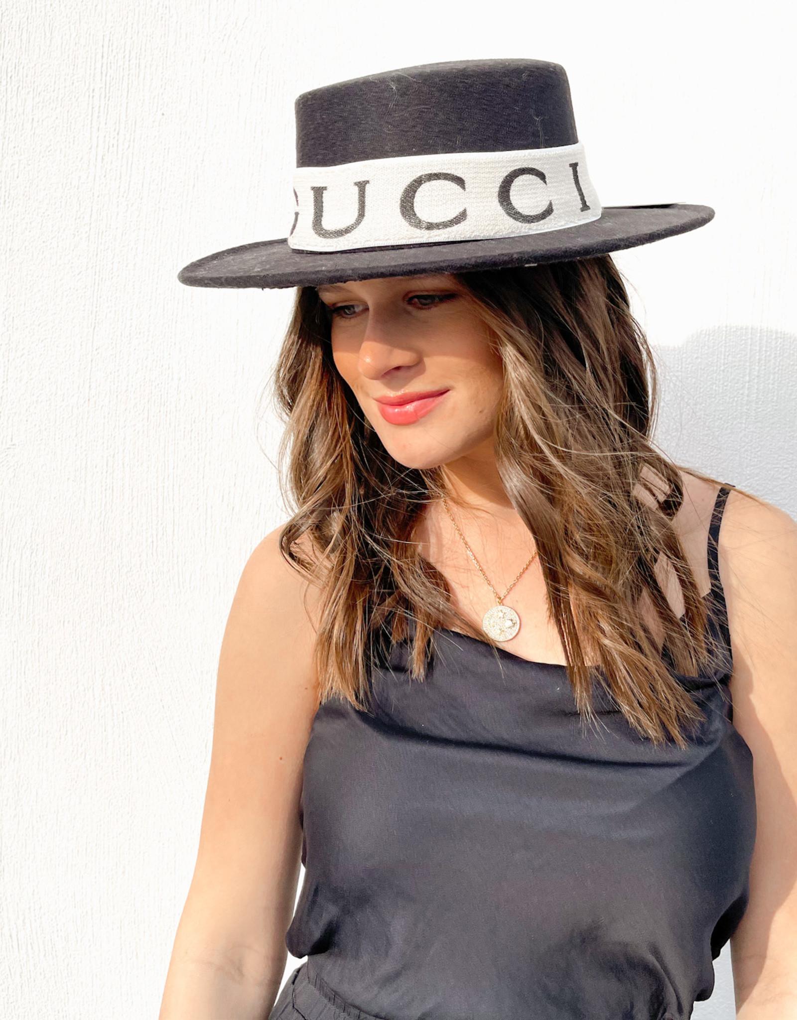 Designer Inspired Gucci Panama Hat