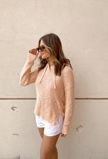 Angela Hi-Lo Sweater Hoodie