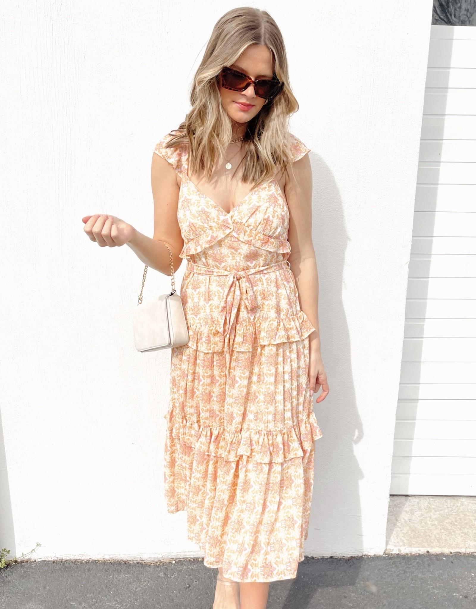 Carine Midi Dress