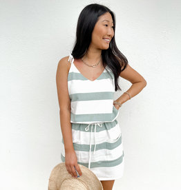 Saleema Striped Mini Dress
