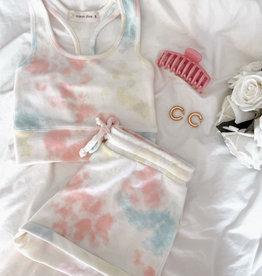 Aurora Tie Dye Hacci Shorts