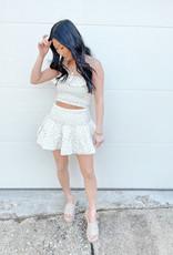 Greta Smocked Skirt