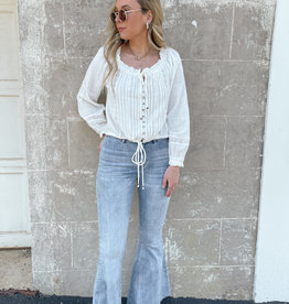 Vanessa High Rise Flare Jeans