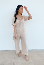 Allison Short Sleeve Jumpsuit