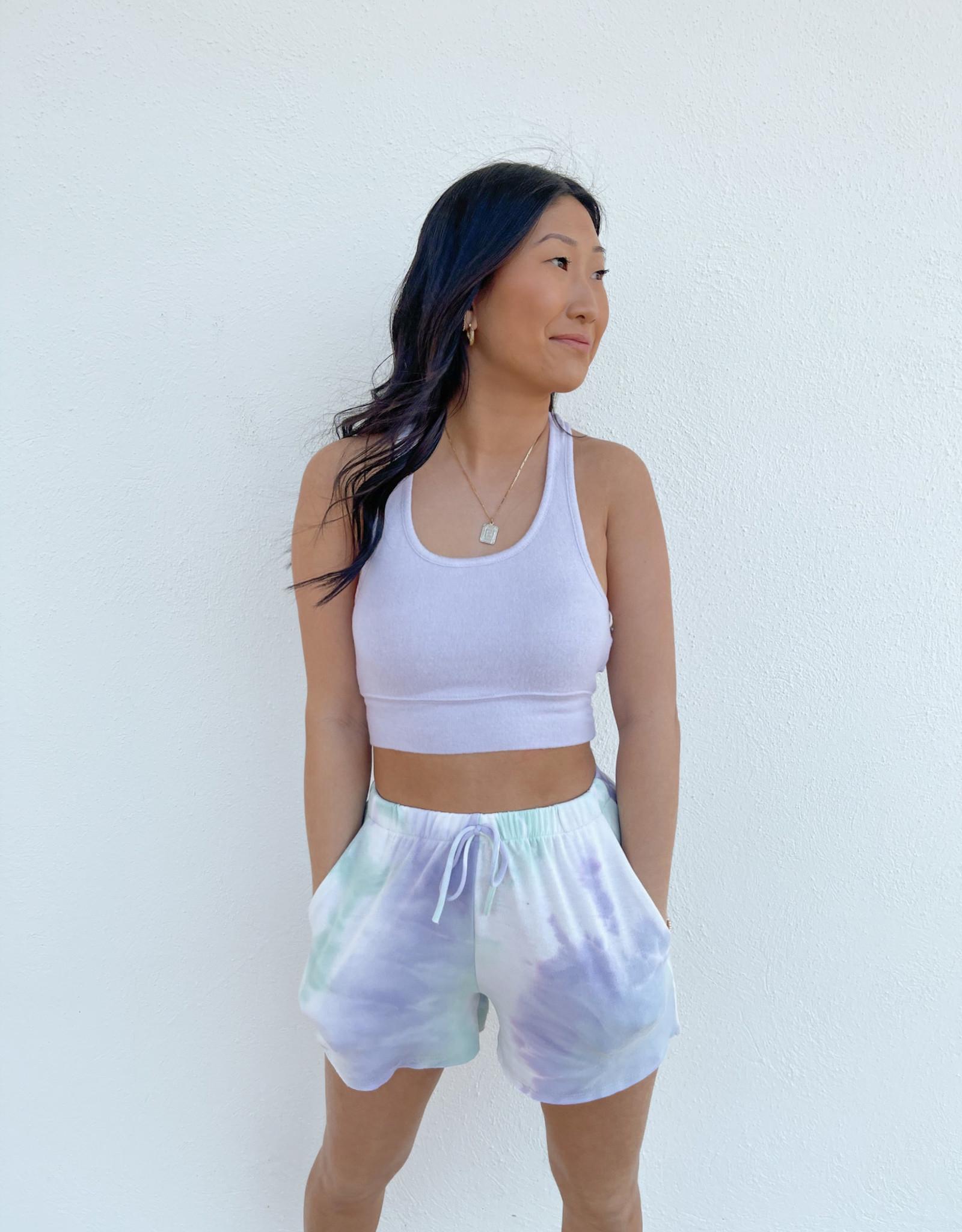 Soleil Tie Dye Lounge Shorts