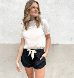 Elizabella Drawstring Shorts