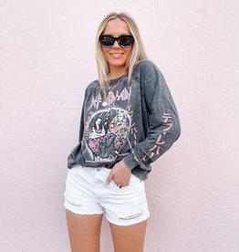 Def Leppard Adrenalize Long Sleeve Sweatshirt