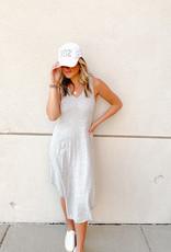 Z Supply Reverie Dress Heather Grey