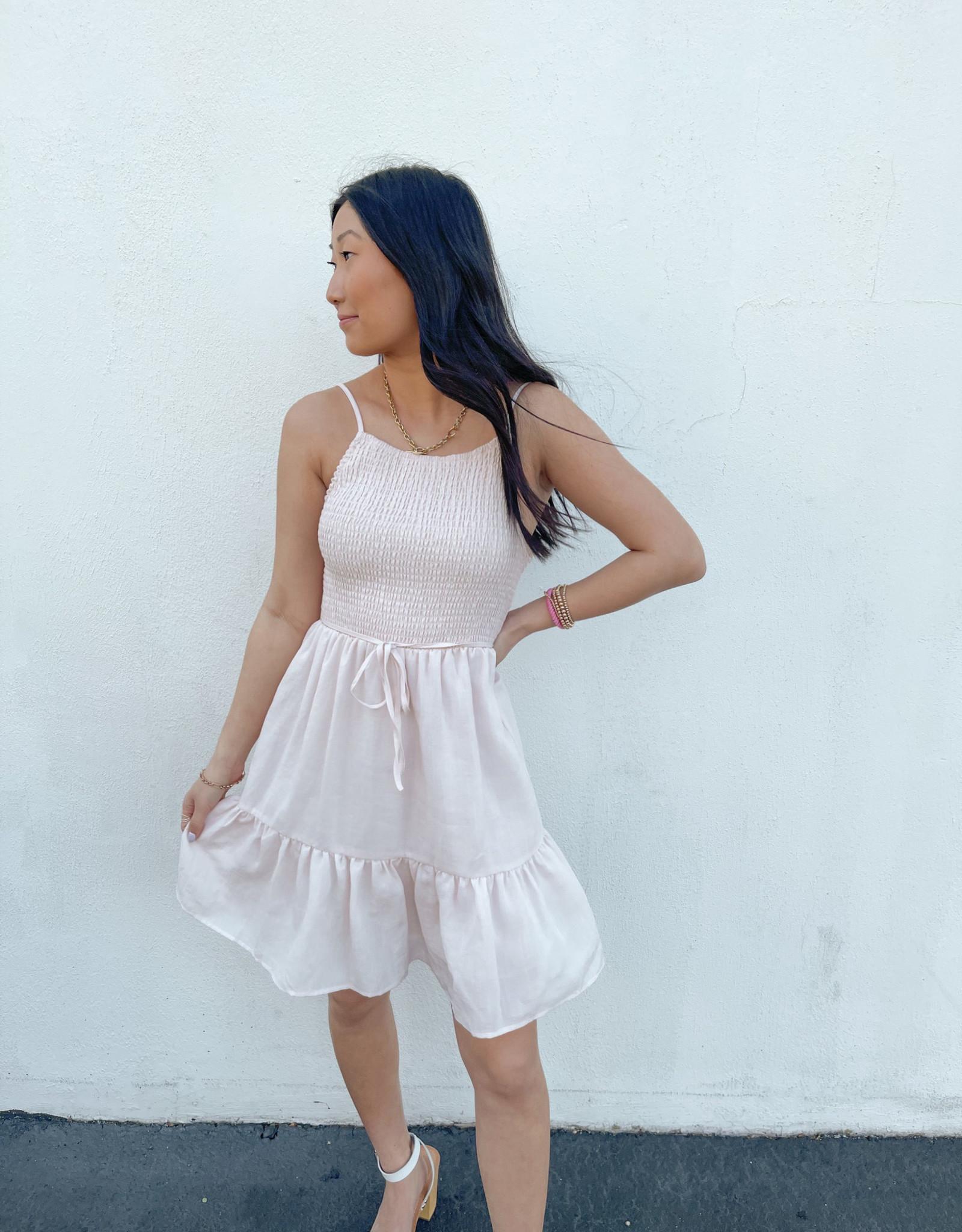Repunzel Sleeveless Smocked Dress