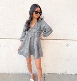 Araceli Pleated Dress