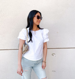 Ally Puff Sleeve Top