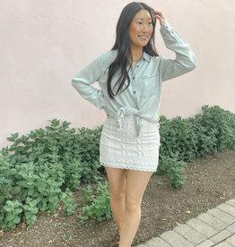 Halsey Lace Mini Skirt