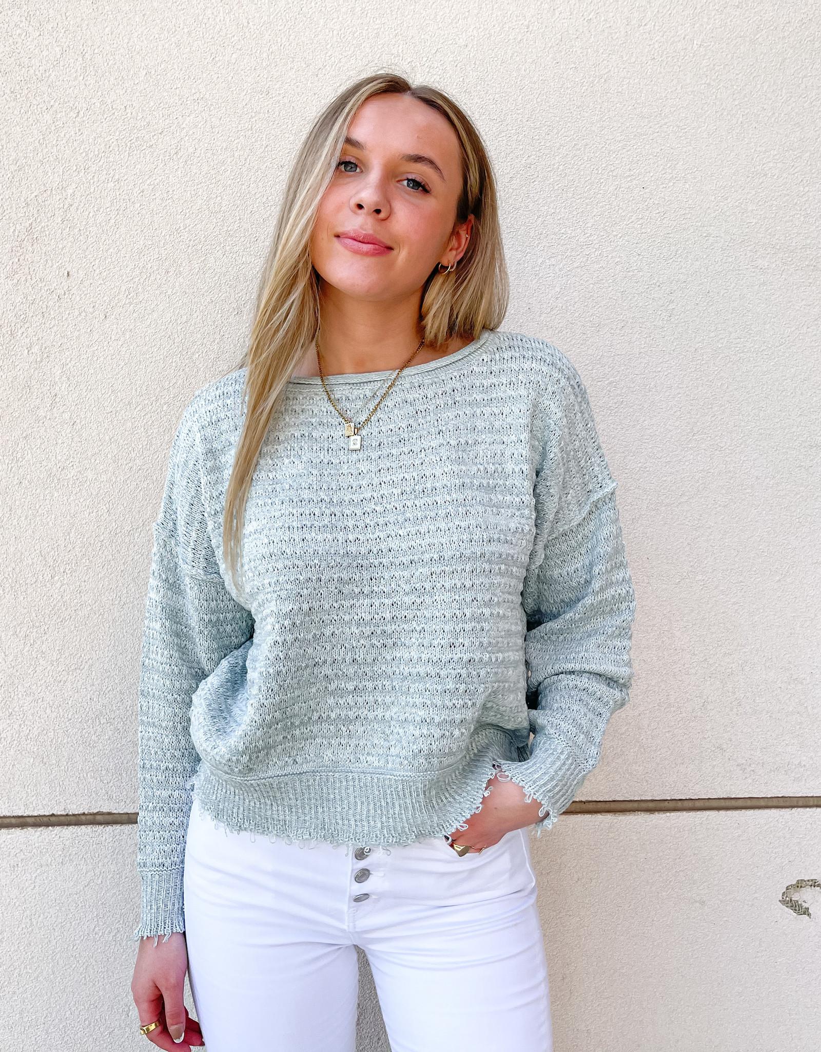 Kitty Textured Knit Sweater