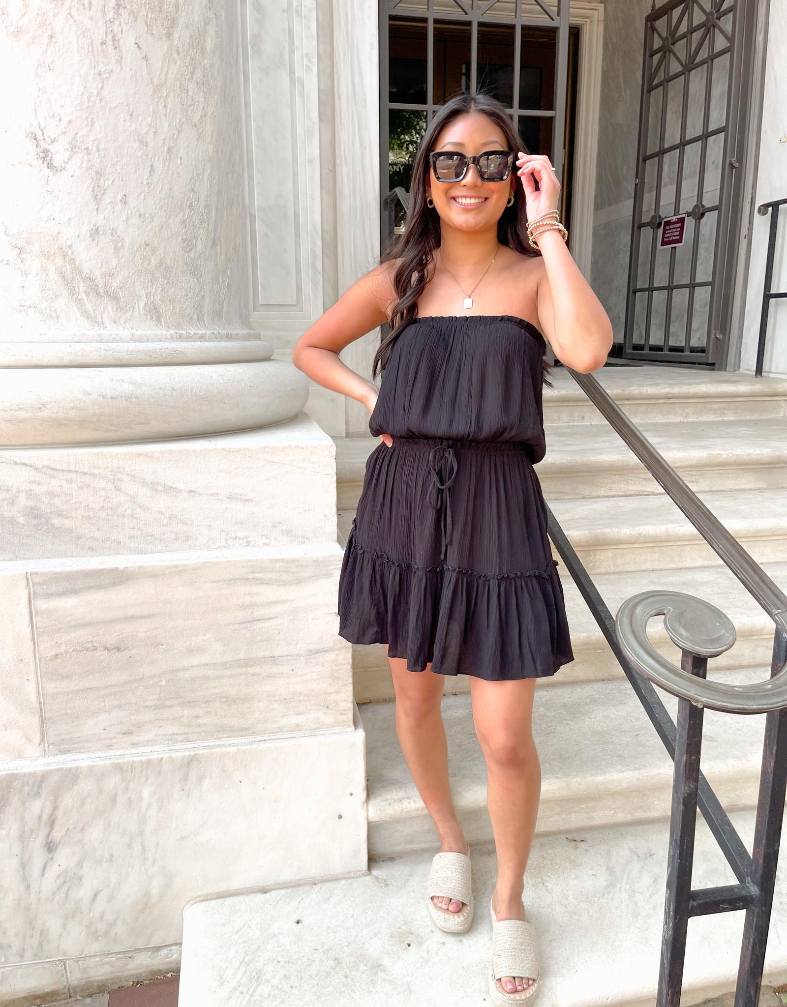 Celeste Strapless Midi Dress