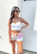 Cassia Tie Dye Lounge Shorts