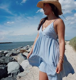 Amanda Lace Patch Dress