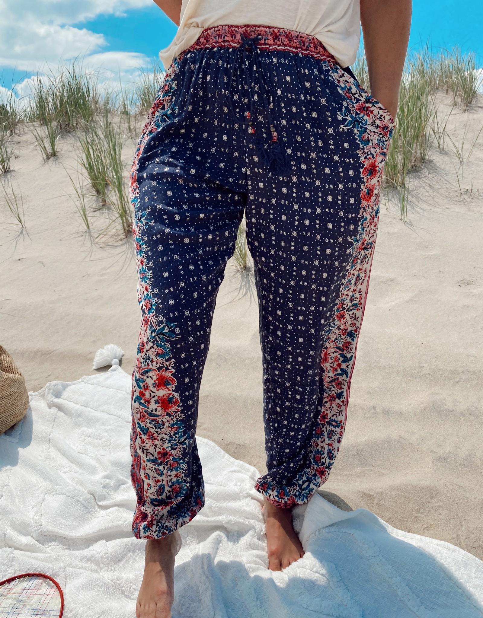 Waverly Printed Jogger Pants