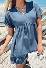 Cleo Ruffle Mini Dress