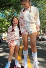 Z Supply Girls Mayori Tie-dye Sweatshirt