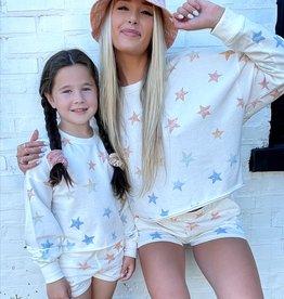 Z Supply Girls Kira Star Sweatshirt