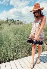 Serenity Printed Tiered Dress