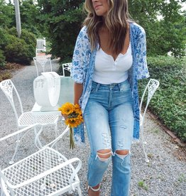 Jayleen High Rise Cropped Jeans