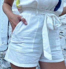 Alia Tie Waist Shorts