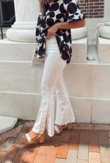 Kylie Side Slit Bootcut Jeans