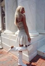 Susanna Smocked Mini Dress