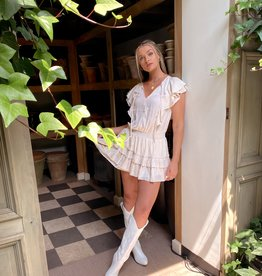 Meadow Ruffle Midi Dress