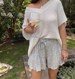 Daniella Knit V Neck Sweater