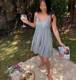 Brenda Lace Patch Dress