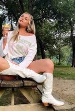 Woodstock Peace Love Music Sweatshirt