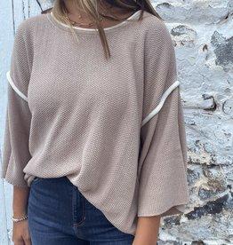 Anita Piping Detail Sweater