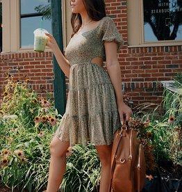 Leonie Floral Puff Sleeve Dress