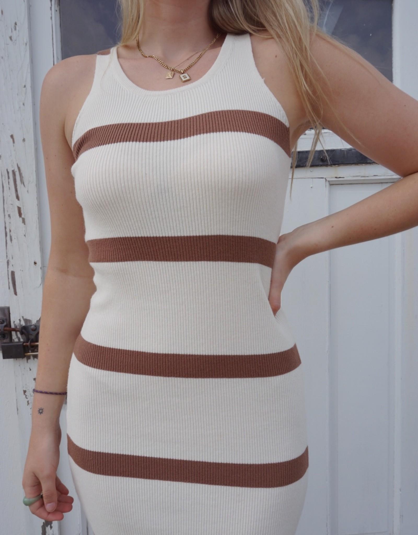 Jolene Fitted Midi Dress