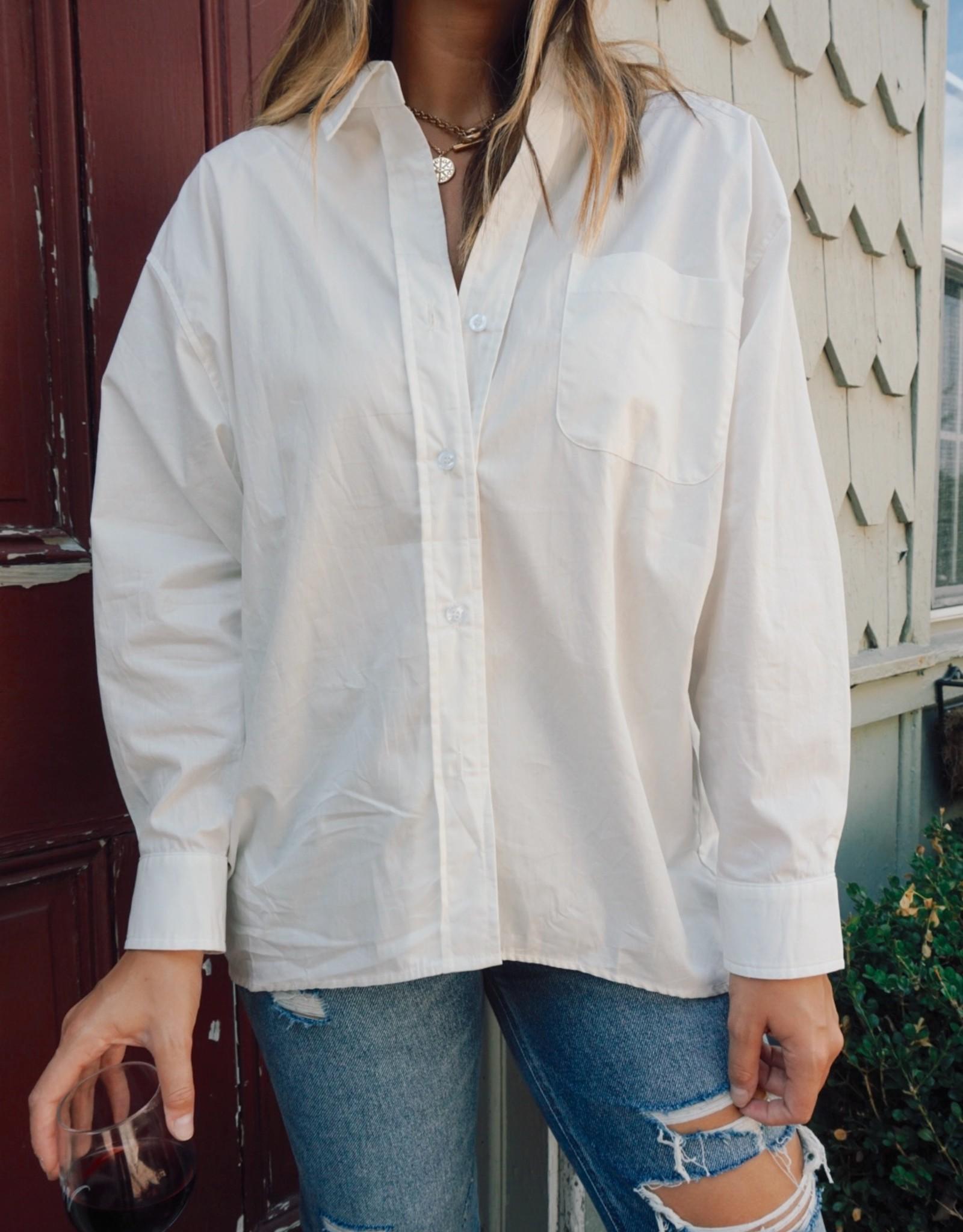 Janine Oversized Button Down Shirt