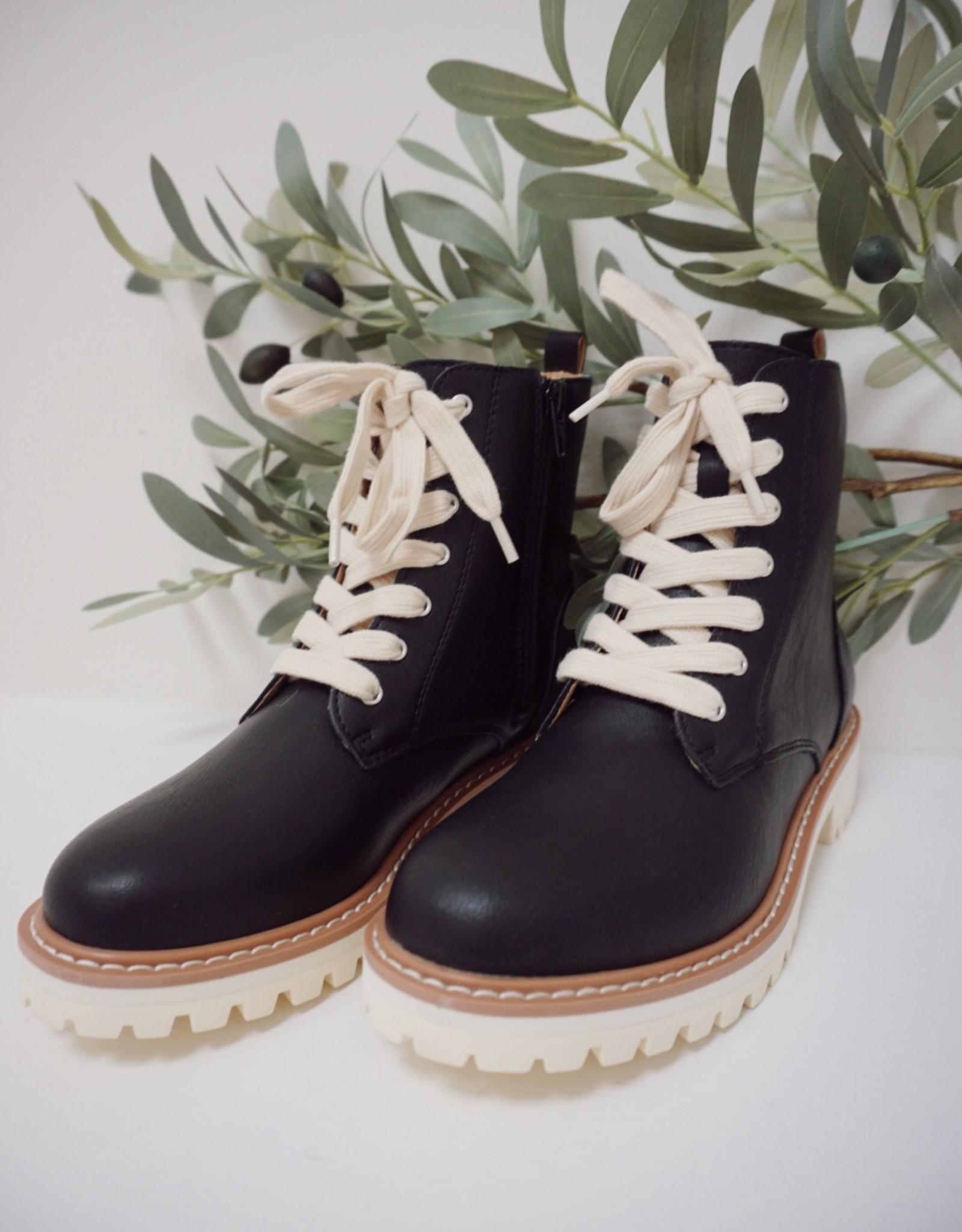 Arora Military Boot Black