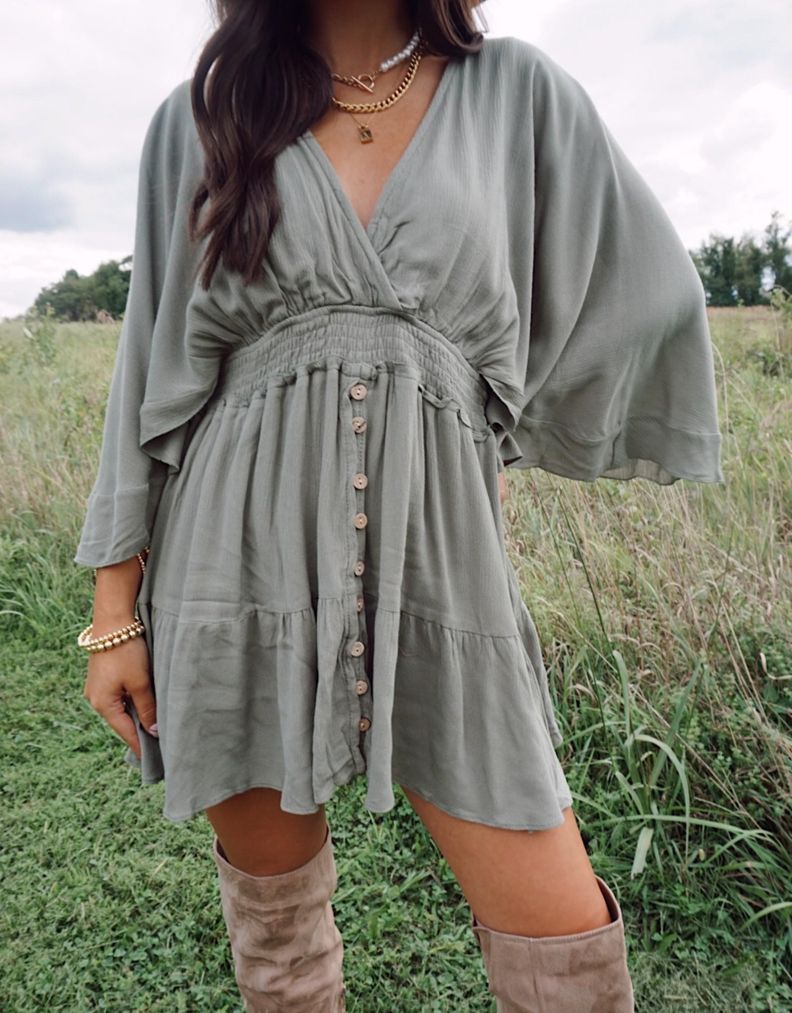 Gracie Gauze Mini Dress