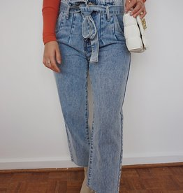 Jules Belted Paperbag Jeans