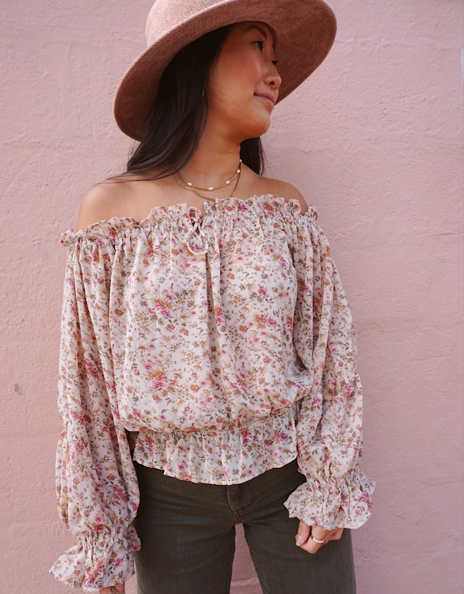 Zaria Floral Blouse