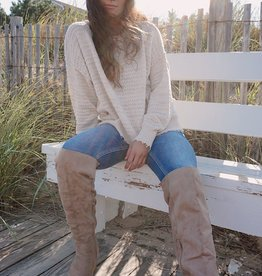 Sia Textured Knit Sweater