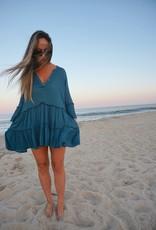 Payson Ruffle V-Neck Dress