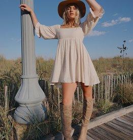 Demetria Babydoll Dress