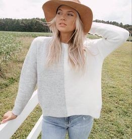 Adalee Colorblock Sweater