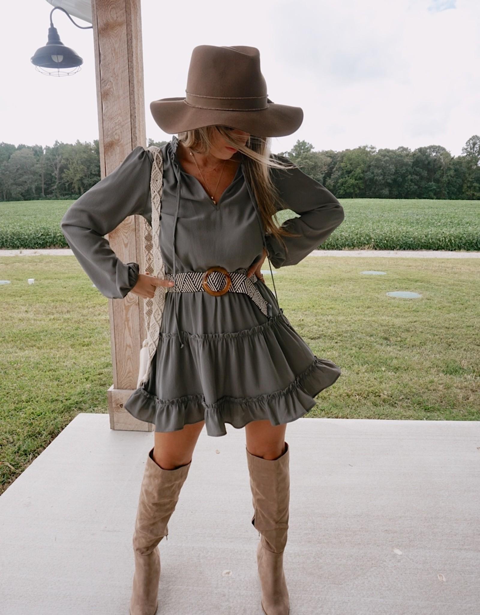 Alejandra Long Sleeve Mini Dress