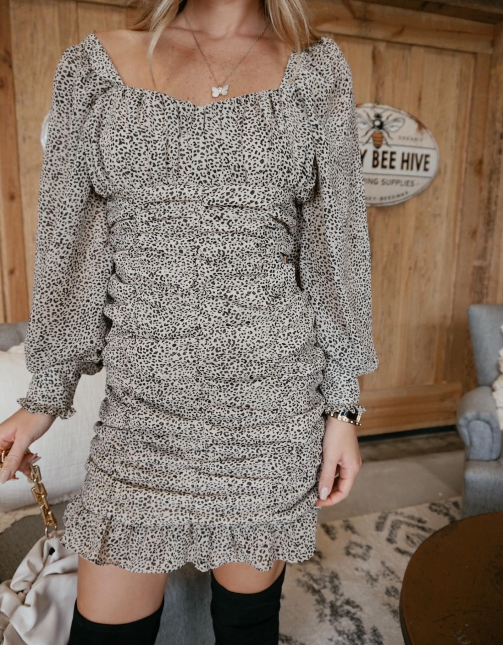 Jasper Ruched Bodycon Dress